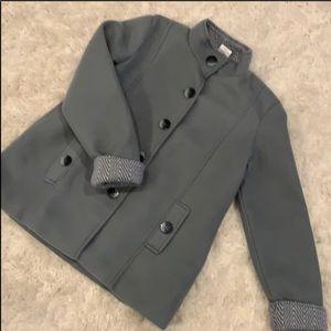 🆕 ANNE DE LANÇAY Teal Coat Size M